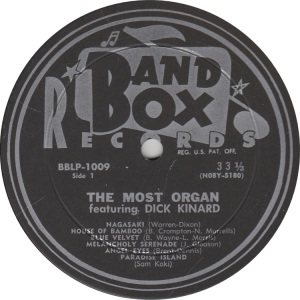 BAND BOX LP 1009 - KINARD DICK (3)
