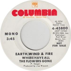 COLUMBIA 45800 DJ - EARTH WIND & FIRE - M