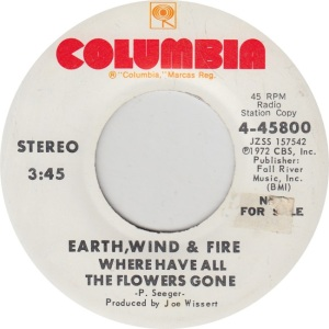 COLUMBIA 45800 DJ - EARTH WIND & FIRE - S