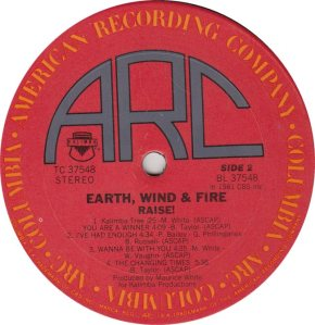 EARTH WIND FIRE - ARC 37548r (2)
