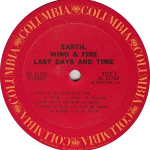 EARTH WIND FIRE - COL 31712 R