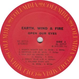 EARTH WIND FIRE - COL 32712 R
