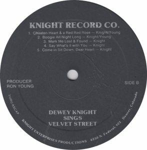 KNIGHT DEWEY - KNIGHT CO RAM (6)
