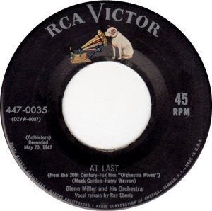 MILLER GLENN - RCA 035 A - 1954