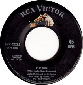 MILLER GLENN - RCA 035 B - 1954