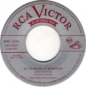 MILLER GLENN - RCA 091 A 1952