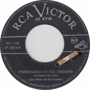 MILLER GLENN - RCA 2854 1950 B