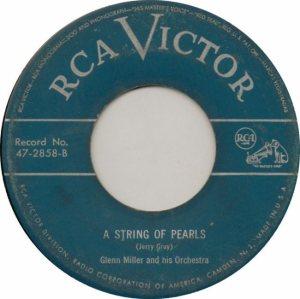 MILLER GLENN - RCA 2858 - 1950 B