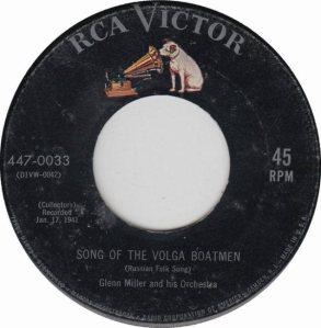 MILLER GLENN - RCA 33 - 1955 - A