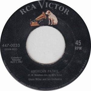 MILLER GLENN - RCA 33 - 1955 - B