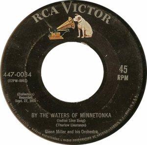 MILLER GLENN - RCA 34 - 1955 A