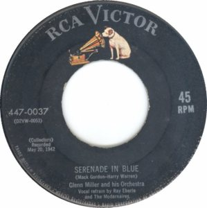 MILLER GLENN - RCA 37 - 1955 - A