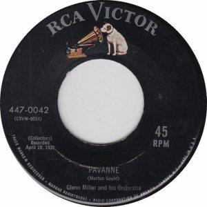 MILLER GLENN - RCA 42 - 1955 A
