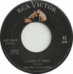 MILLER GLENN - RCA 43 - 1955 B