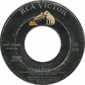 MILLER GLENN - RCA 44 - 1955 A