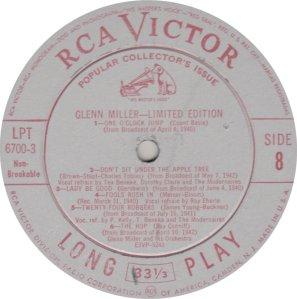 MILLER GLENN - RCA 6700 03