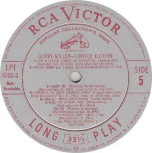 MILLER GLENN - RCA 6700 05