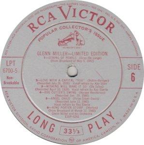 MILLER GLENN - RCA 6700 06
