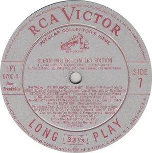 MILLER GLENN - RCA 6700 07