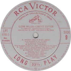 MILLER GLENN - RCA 6700 09