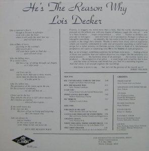 DECKER LOIS - ARTS CLARION 2119r (4)