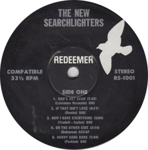 NEW SEARCHLIGHTERS - REDEEMER