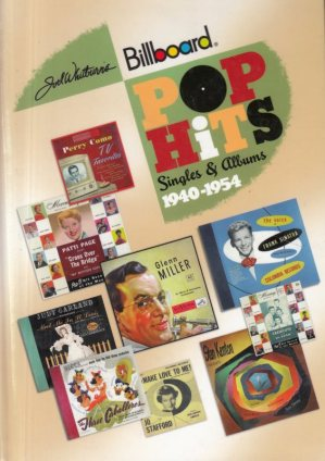POP BOOKS - CHARTS 1940-1954