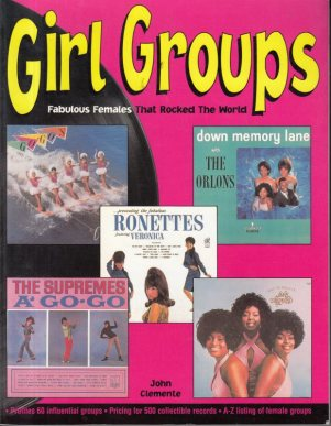 POP BOOKS - GIRL GROUPS