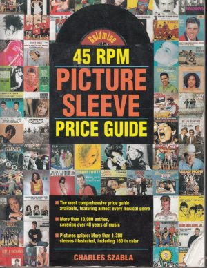 POP BOOKS - PRICE GUIDE PIC SLEEVES