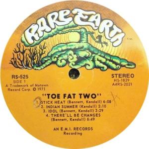 RARE EART 525 - TOE FAT A