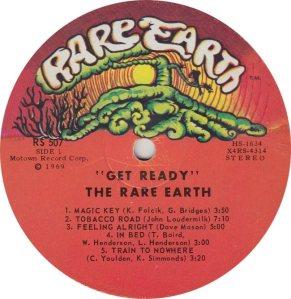 RARE EARTH 507 - RARE EARTH - A