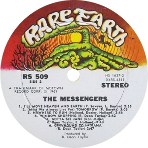RARE EARTH 509 - MESSENGERS B