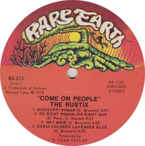 RARE EARTH 513 - RUSTIX A