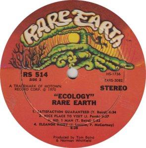 RARE EARTH 514 - RARE EARTH B