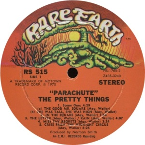 RARE EARTH 515 - PRETTY THINGS AA