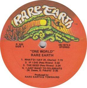 RARE EARTH 520 - RARE EARTH 1