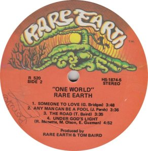 RARE EARTH 520 - RARE EARTH 2