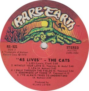 RARE EARTH 521 - CATS 2