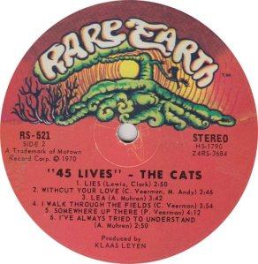 RARE EARTH 521 - CATS 2