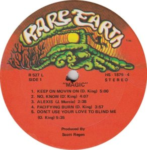 RARE EARTH 522 - MAGIC A
