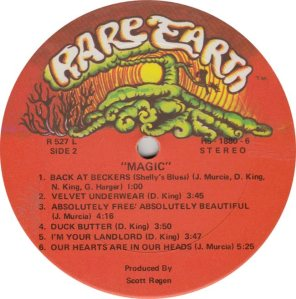 RARE EARTH 522 - MAGIC B