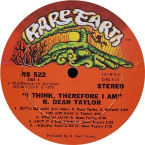RARE EARTH 522 - TAYLOR A