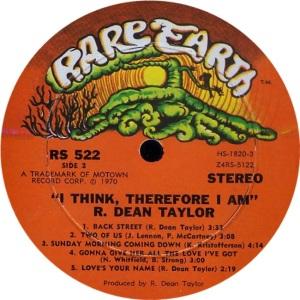 RARE EARTH 522 - TAYLOR B