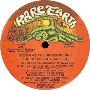 RARE EARTH 529 - IMPACT BRASS A