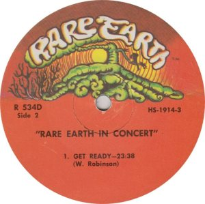 RARE EARTH 534 - RARE EARTH 2