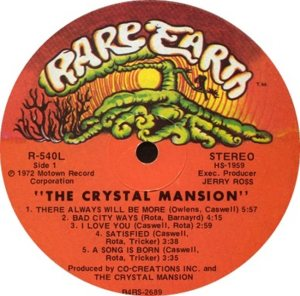 RARE EARTH 540 - CRYSTAL MANSION A
