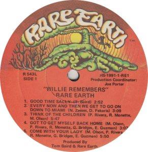 RARE EARTH 543 - RARE EARTH 1