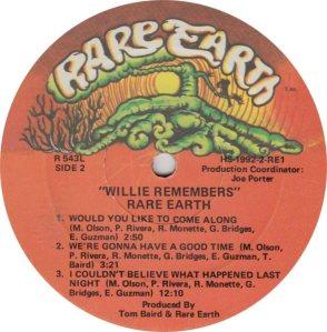 RARE EARTH 543 - RARE EARTH 2