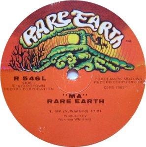 RARE EARTH 546 - RARE EARTH E