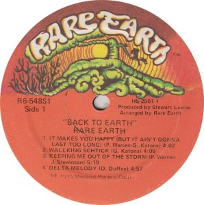 RARE EARTH - 548 - RARE EARTH 1